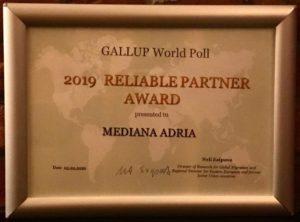 Gallup World Poll Reliable partner award